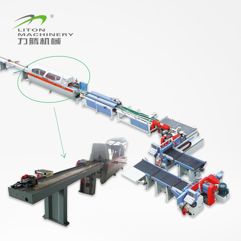 Liton Woodworking Machinery MHS1525LX600II Automatic Finger Jointer Line (Speed 15-20m/min) Finger Joint Machine image4