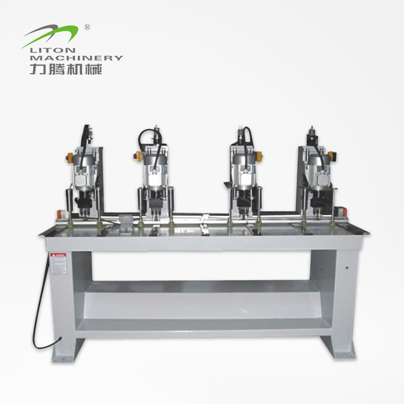Liton Woodworking Machinery MZ7343A Four Heads Hing Woodworking Driller Woodworking Drilling Machine image1