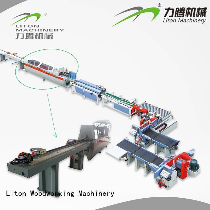 automatic joint no finger joint machine Liton Woodworking Machinery
