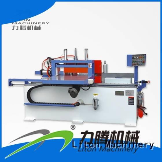 Hot finger joint line jonit finger joint machine planer Liton Woodworking Machinery